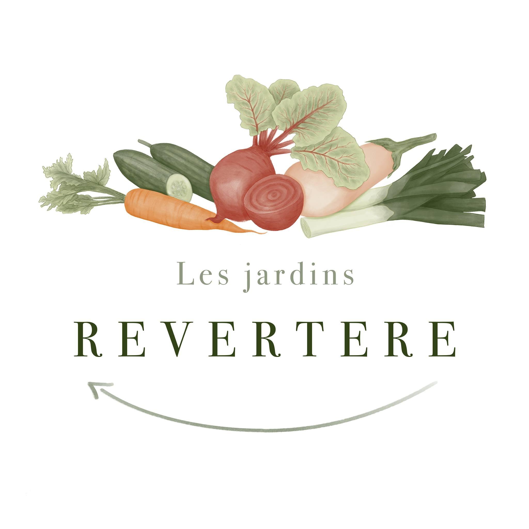 Logo Les jardins Revertere